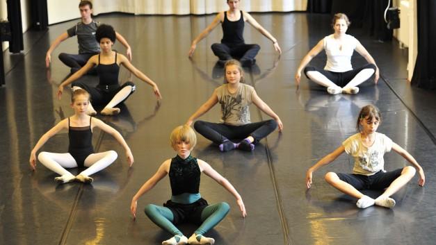 Moderner Tanz Robert Solomon / Foto Phli Free